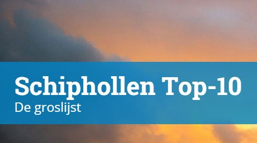 Schiphollen top 10 definitief