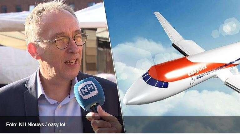 """Milieufederatie Noord-Holland: """"Elektrisch vliegen levert niks tot nauwelijks iets op"""""""