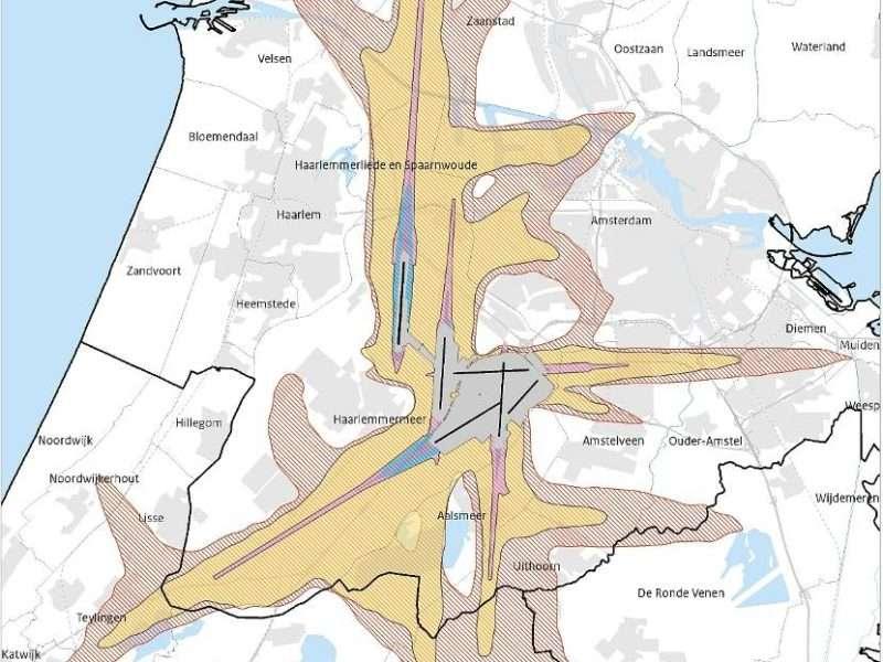 Luchthavenverkeerbesluit legt plafond vast, maar hinder en uitstoot blijven groot